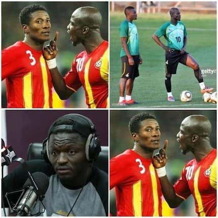 Black Stars: Muntari picks Stephen Appiah as better leader than Gyan