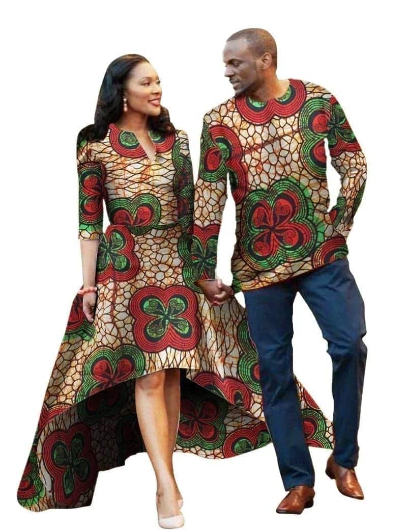 da7bfcad133 African dresses for couples ▷ YEN.COM.GH