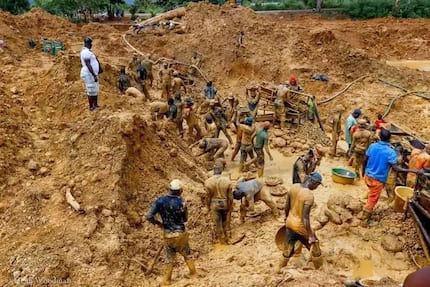 Galamsey bosses are in your party and in gov't - Chiefs tell shocked minister at function
