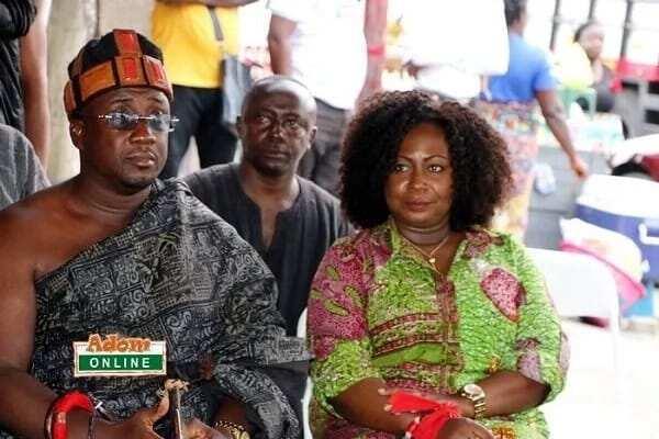 Akwamuhene, Nana Ansah Kwao, Gifty Anti mourn KABA