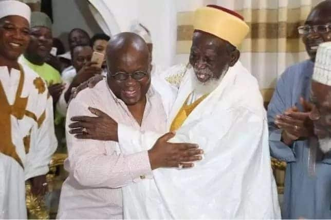 Photos from the 95th birthday party of Chief Imam Sharabutu attended by Akufo-Addo and Bawumia