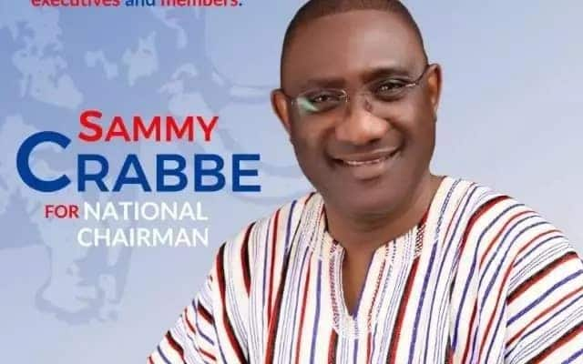 Suspended Sammy Crabbe is set to contest NPP chairmanship