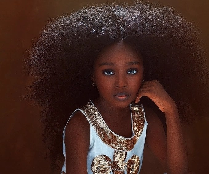 Meet Nigerian dubbed the most beautiful girl in the world