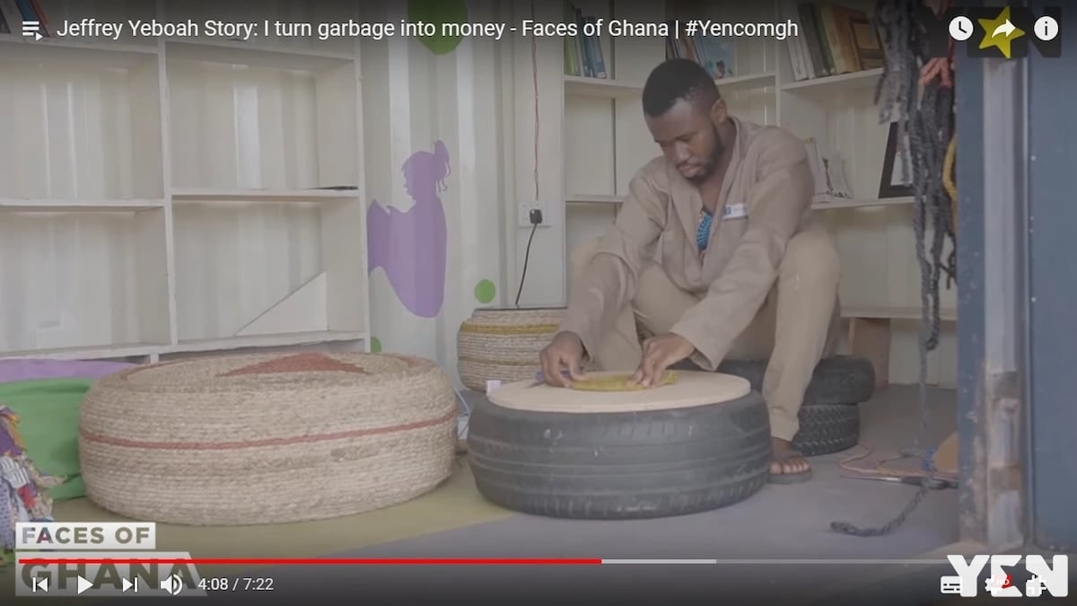 Faces of Ghana: The guy who turns garbage into cash