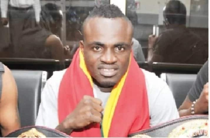 Emmanuel Tagoe loses IBO lightweight title for failing to comply with weight order