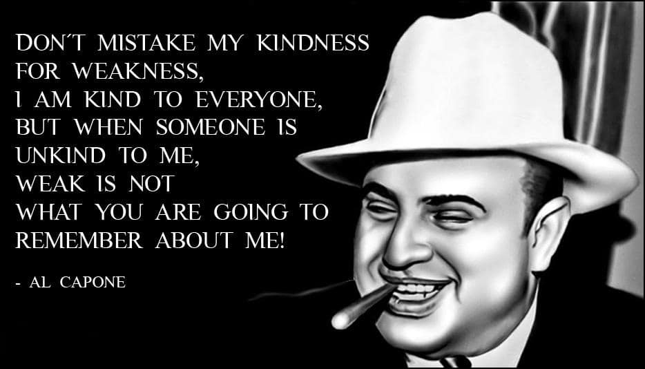 Famous gangster quotes with images ▷ YEN COM GH