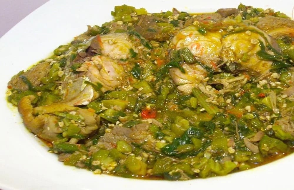 How to Prepare Okro Soup Without Palm Oil in Ghana