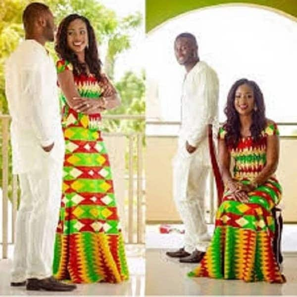 Latest kente styles for engagement 2018