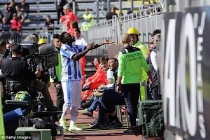 Italian FA bans Muntari for protesting against racial abuse - UN official calls him an inspiration