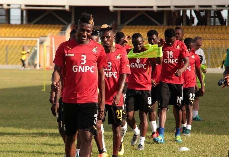 Black Stars squad to play Uganda named