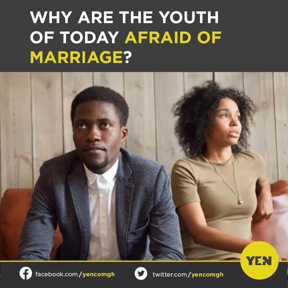 Most youth afraid of marriage because of tall marriage list, bad parents, others - Survey