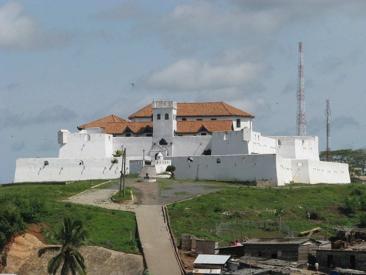 castles in Ghana, pictures of slave castles in ghana, names of castles in ghana
