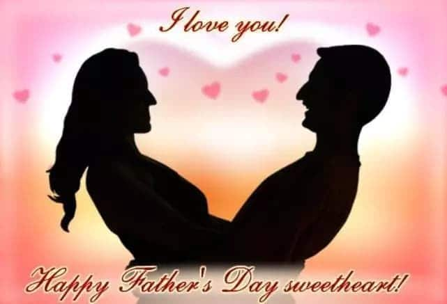 romantic fathers day message for husband