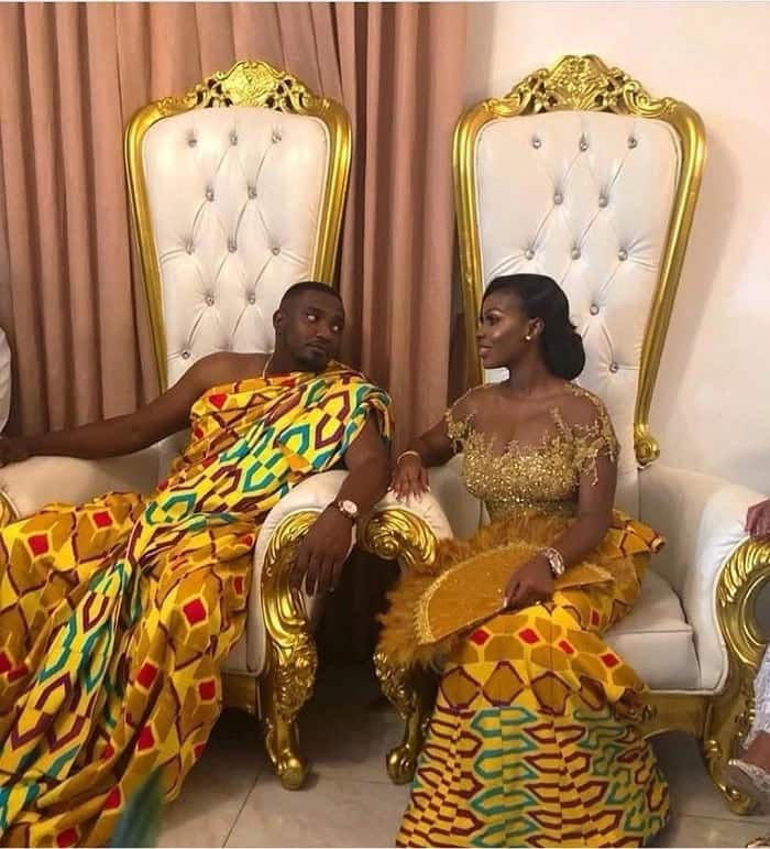 Video: John Dumelo's wife and Nadia Buari dance to MzVee's song at wedding