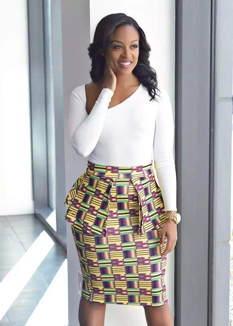 Top African print pencil skirts designs in 2018