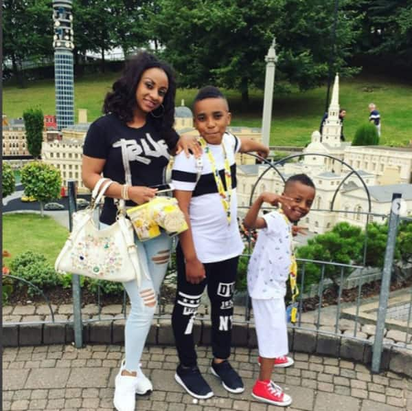 8 beautiful photos of Asamoah Gyan's kids he wants to do DNA tests on