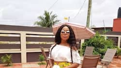 Mzbel is smoking something that looks like 'weed' and she wants you to know