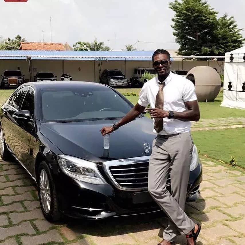 Photos of Sheyi Adebayor's cars, mansion and property