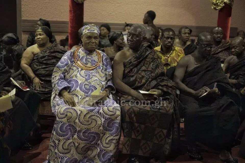 Photos from Asantehemaa's funeral in Kumasi