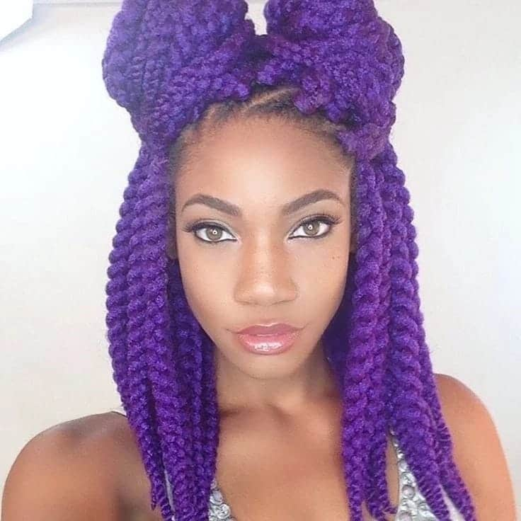 Latest Nigerian Braids Hairstyles In 2019 Yen Com Gh