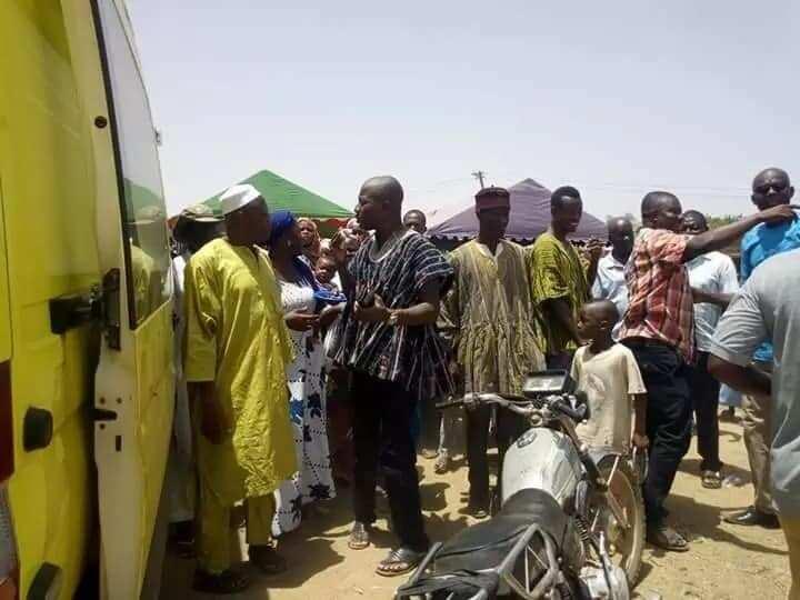 Mahama Ayariga procures ambulance to support health delivery in Bawku