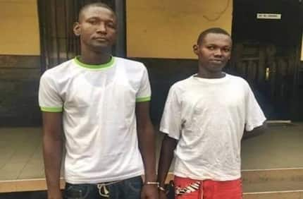 Photo: East Legon armed robbers who robbed Israeli businessman busted