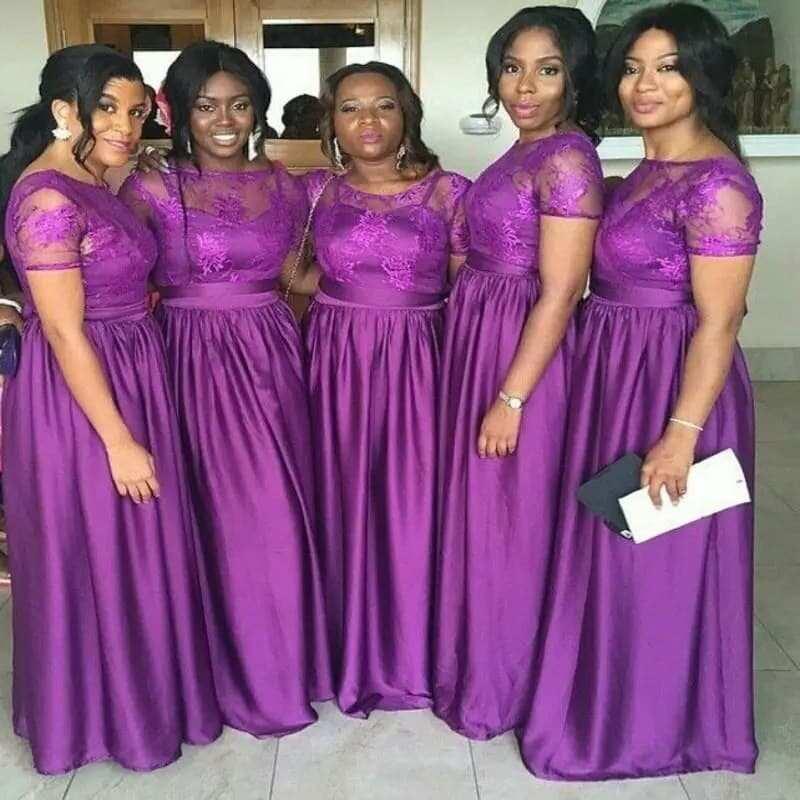 African Bridesmaid Dress Styles In Ghana YEN.COM.GH