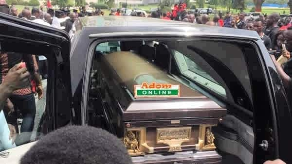 Sad scenes as KABA is laid to rest in Accra
