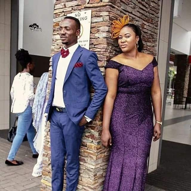 Oboy Salinko shows off beautiful wife on 1st wedding anniversary