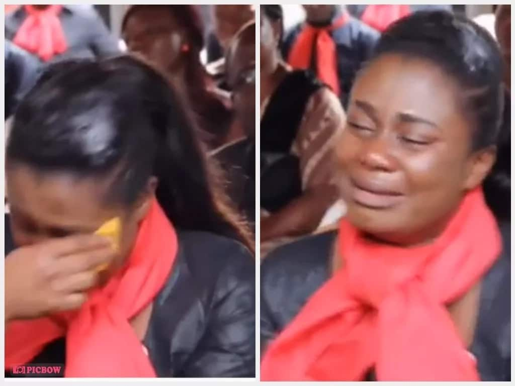 Adom TV's Afia Tamakloe suffered panic attack at KABA's memorial