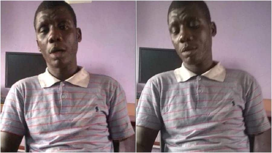 Full story of how factory worker at Tema watched his arm chopped off by machine