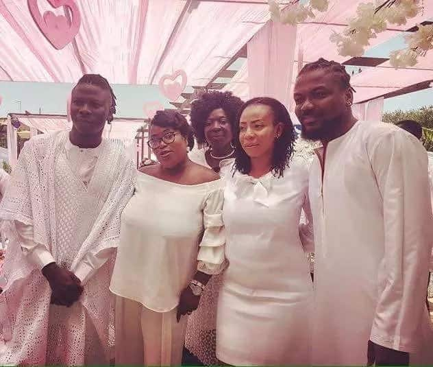 More photos from naming ceremony of Stonebwoy's daughter