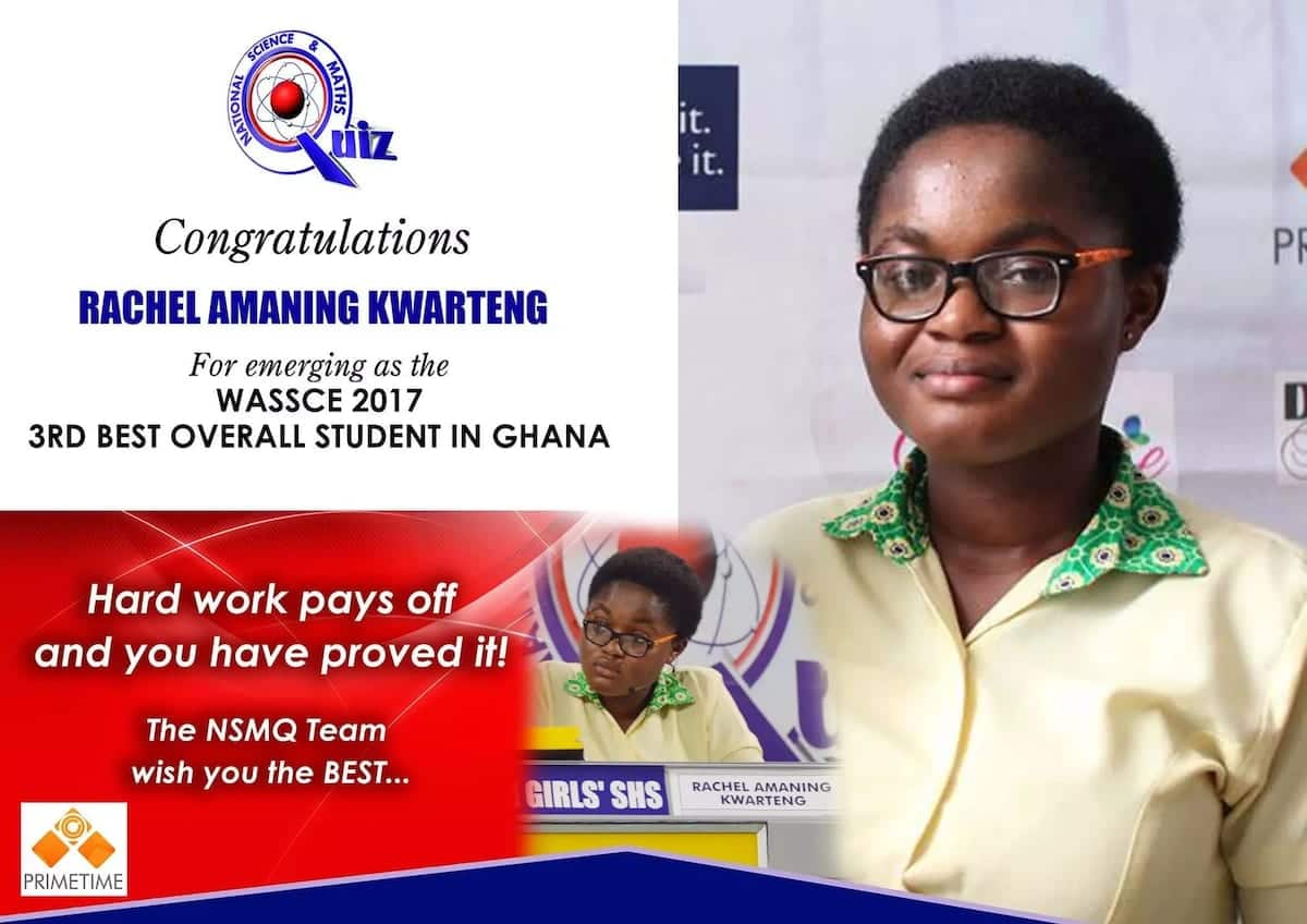 Past NSMQ winners excel at WASSCE