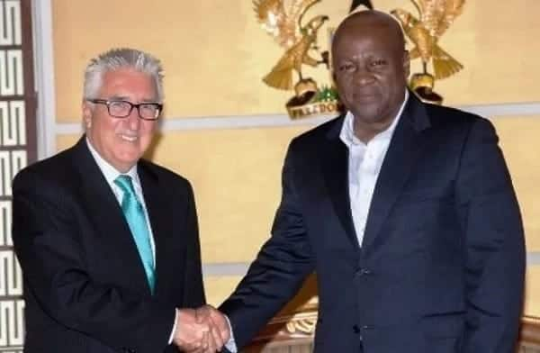 Mahama 'begged' US government for military base – Report
