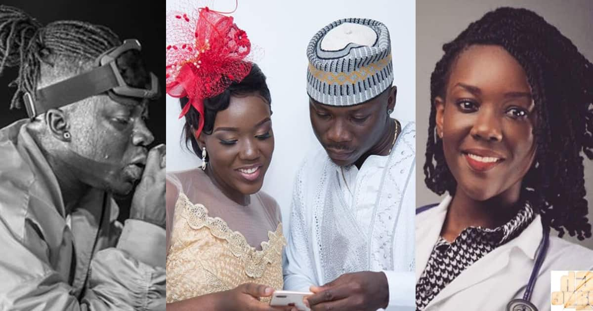 Stonebwoy and Louisa glow in latest rare photo and fans can't keep quite