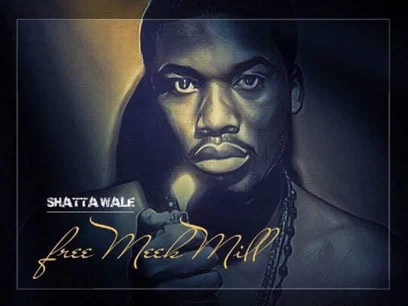 Social media divided over Shatta Wale's campaign for American rapper Meek Mill's release from prison
