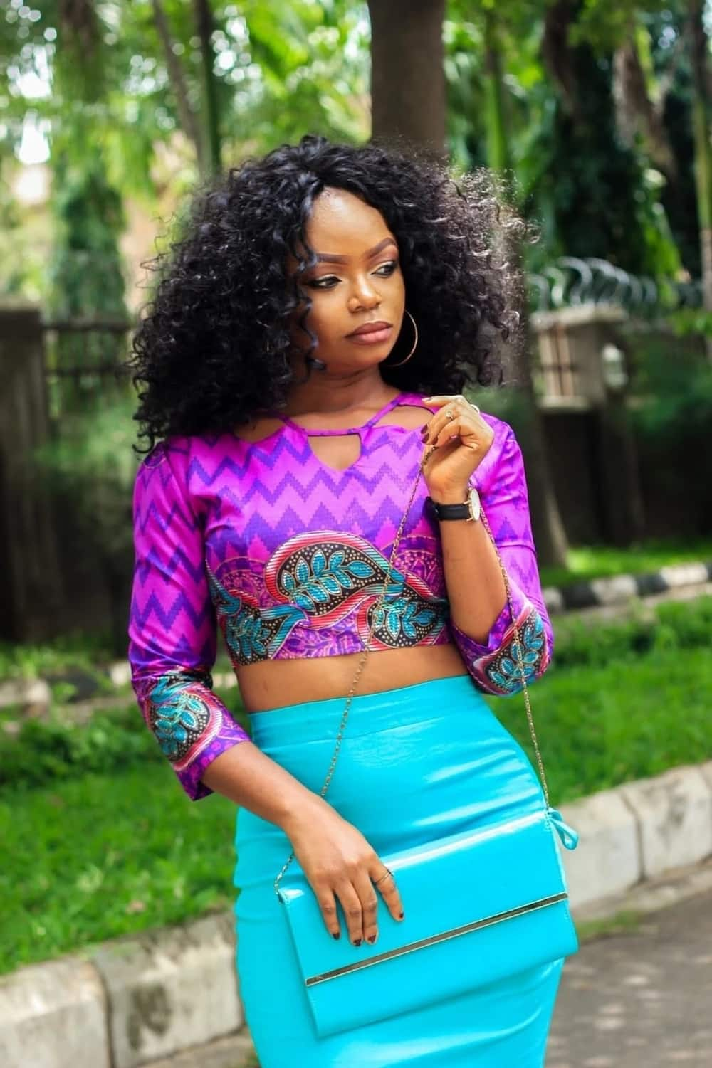 Latest Ankara Tops Styles with Images (Summer 2020) ▷ YEN.COM.GH