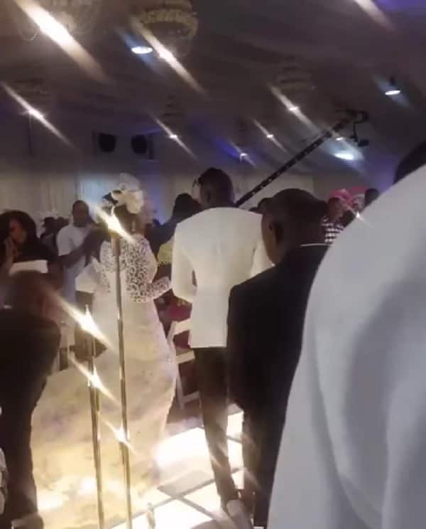 Video: Stonebwoy and wife Louisa dance at their wedding