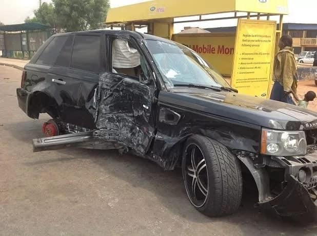 Nana Ama McBrown Car Accident How It Was