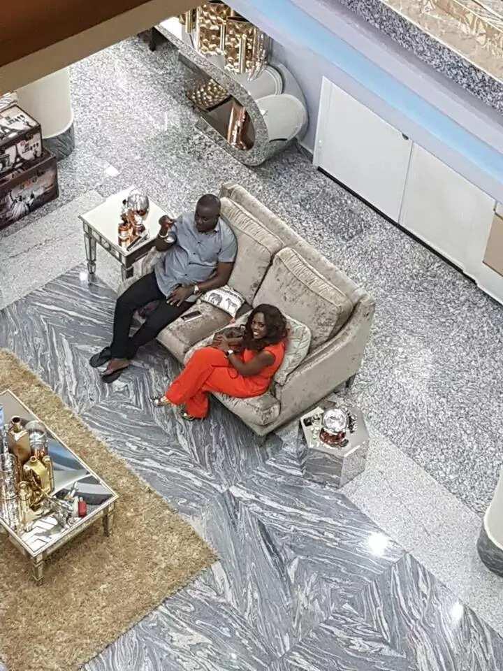 Photos: Inside Osei kwame Despite's mansion in kumasi