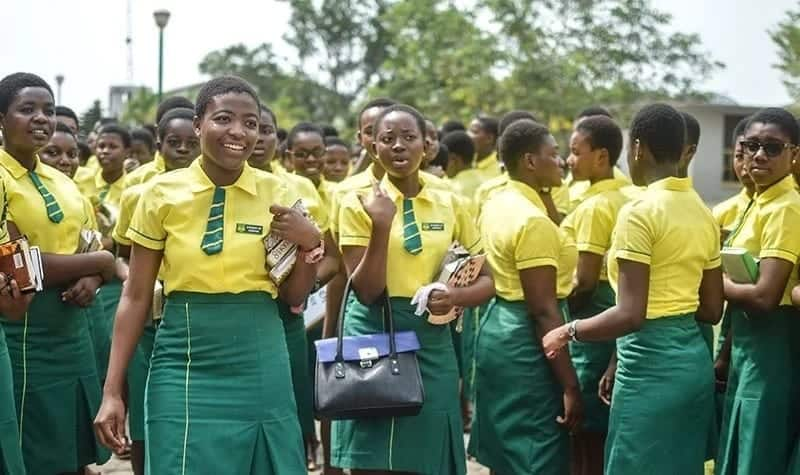 2e52069990 7 Senior High Schools with the most beautiful uniforms. Wesley Girls
