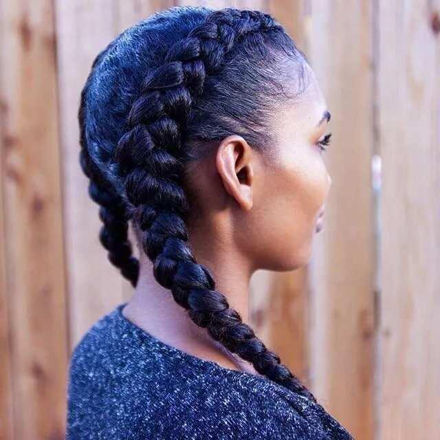 Natural hair styles in Ghana