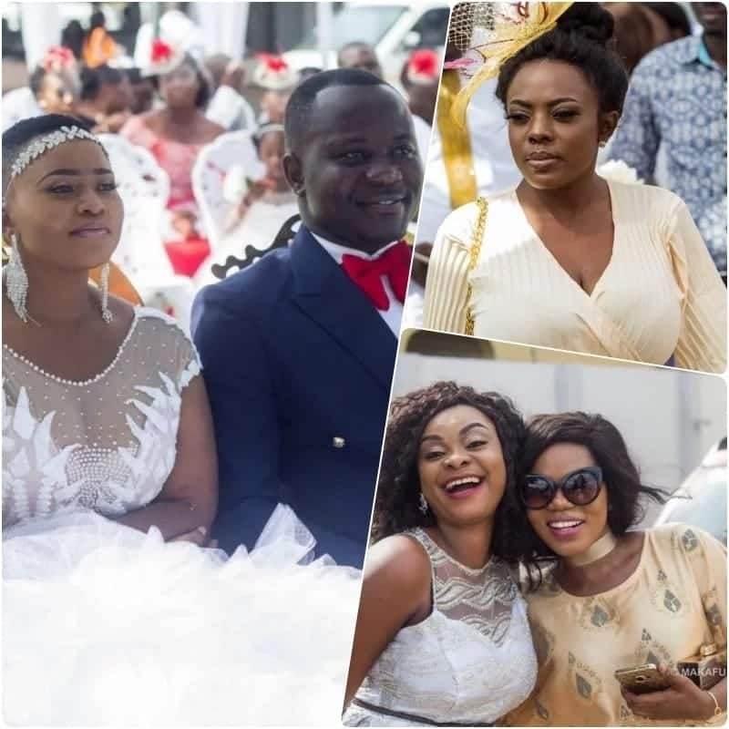 Celebrity Wedding Officiants For Hire: How Some Ghanaian Celebrities Dressed To MzGee's Wedding