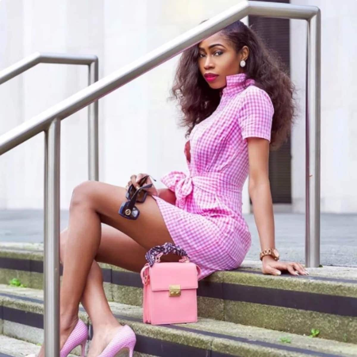 More pictures of Yvonne Nelson's alleged Nigerian 'rival'