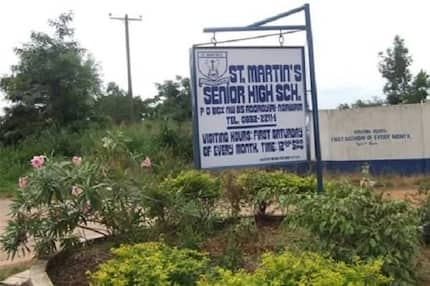 There's no cause for alarm It was just malaria and anaemia - St Martins SHS calms nerves after 20 students collapsed in 24 hours