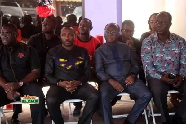 Photos of the week: Mahama and all the sad faces spotted mourning KABA