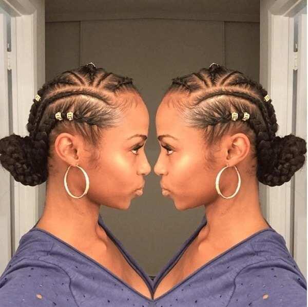Goddess braids styles 2017