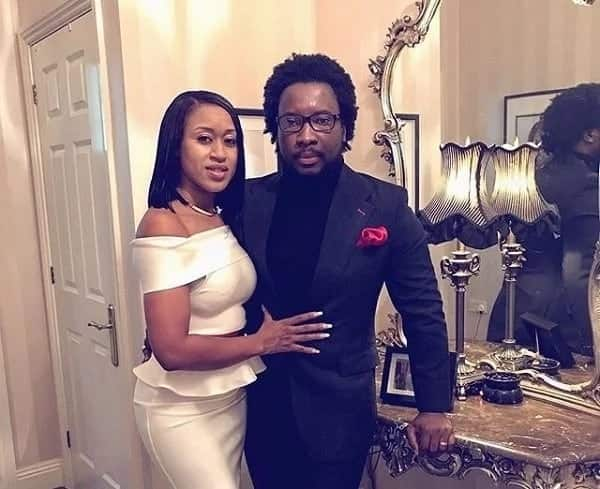 Sonnie Badu and wife, Ann-Marie share lovely photo together