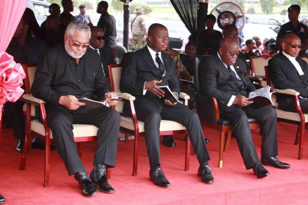 Rawlings pays tribute to late William Adumua-Bossman