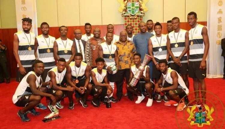 President Akufo-Addo rewards Black Stars B with $100,000